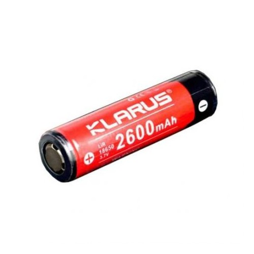 Batterie rechargeable Lithium-Ion 18650 3.7V 2600 mAh