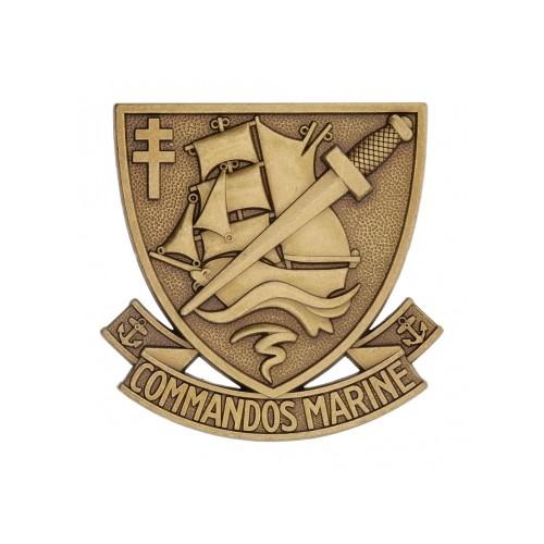 Insigne de beret COMMANDOS MARINE