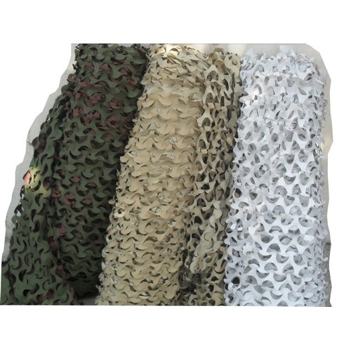 Filet de camouflage deco xm military white camouflage net for Rideau exterieur camouflage