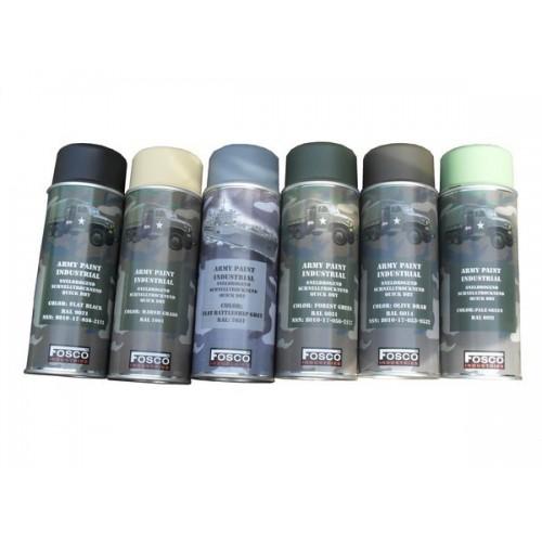 Spray de peinture militaire