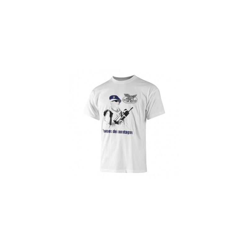 cb542293471c1 Tee shirt coton troupes de montagne - Surplus Le Casque Bleu