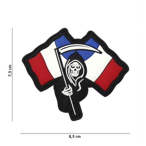 Patch 3D PVC French Reeper
