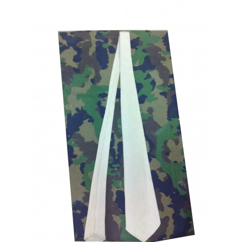 Cravate beige Armée Française Indochine Algérie