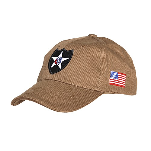 Casquette Baseball 2nd Infantery Beige