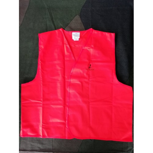 Gilet Traque Orange fluo Percussion-M/L