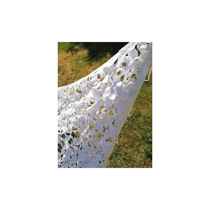 Filet de camouflage BLANC 4 x 5
