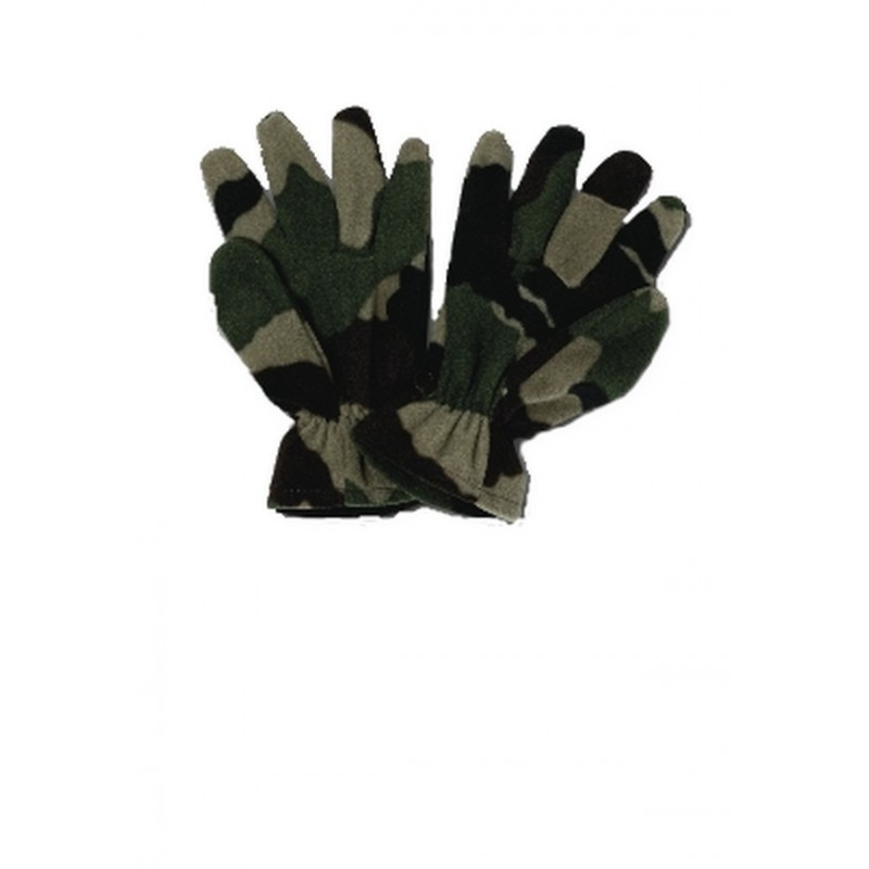 Gants polaire camouflage Centre Europe