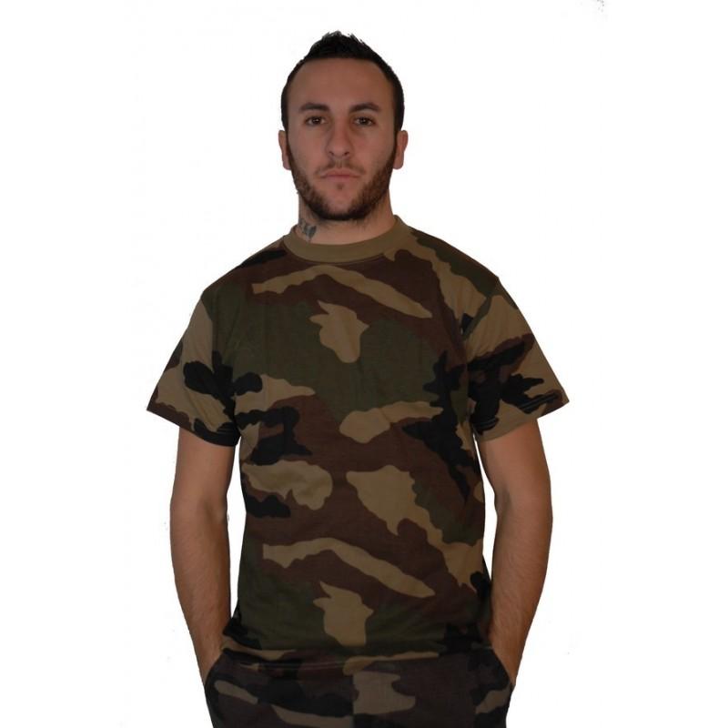 t shirt militaire camouflage centre europe surplus le casque bleu. Black Bedroom Furniture Sets. Home Design Ideas