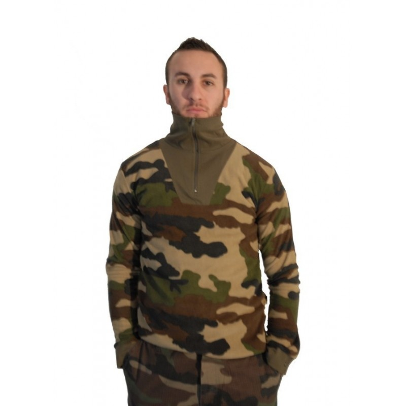Surplus F1 Casque Camouflage Chemise Ce Militaire Polaire Le Bleu 9EDH2IYW