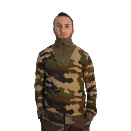 Chemise F1 militaire polaire camouflage centre-europe
