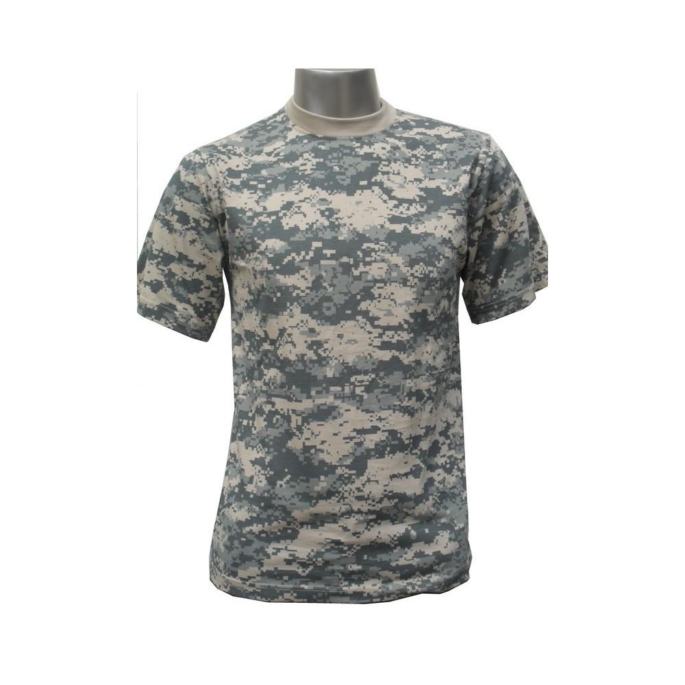 t shirt militaire camouflage acu surplus le casque bleu. Black Bedroom Furniture Sets. Home Design Ideas
