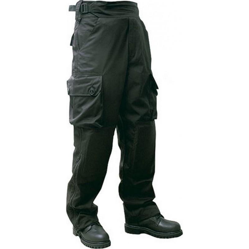 Pantalon treillis guerilla militaire ripstop noir