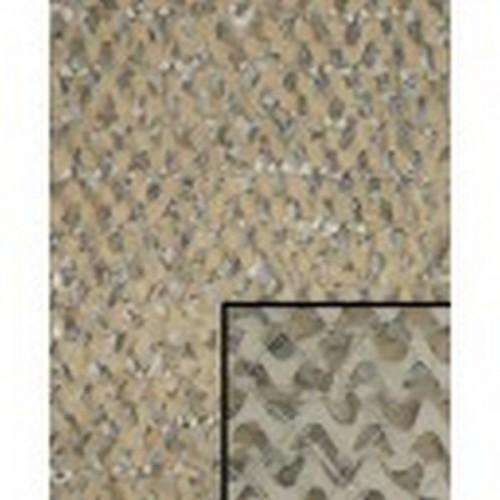 Filet de camouflage paramilitaire sable 3m x 6m