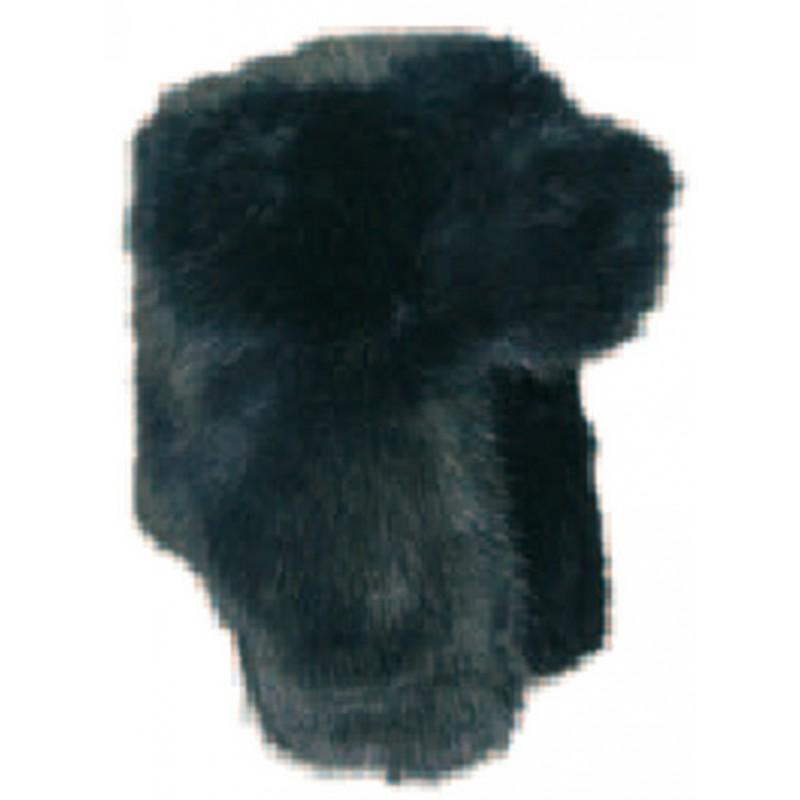 Chapka fourrure noire