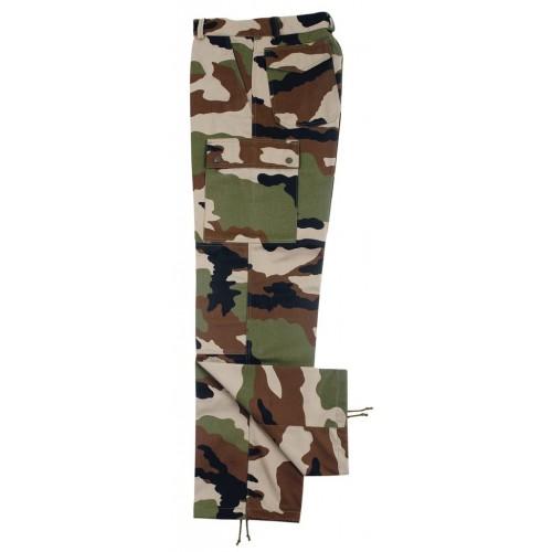 Pantalon treillis F4 camouflage