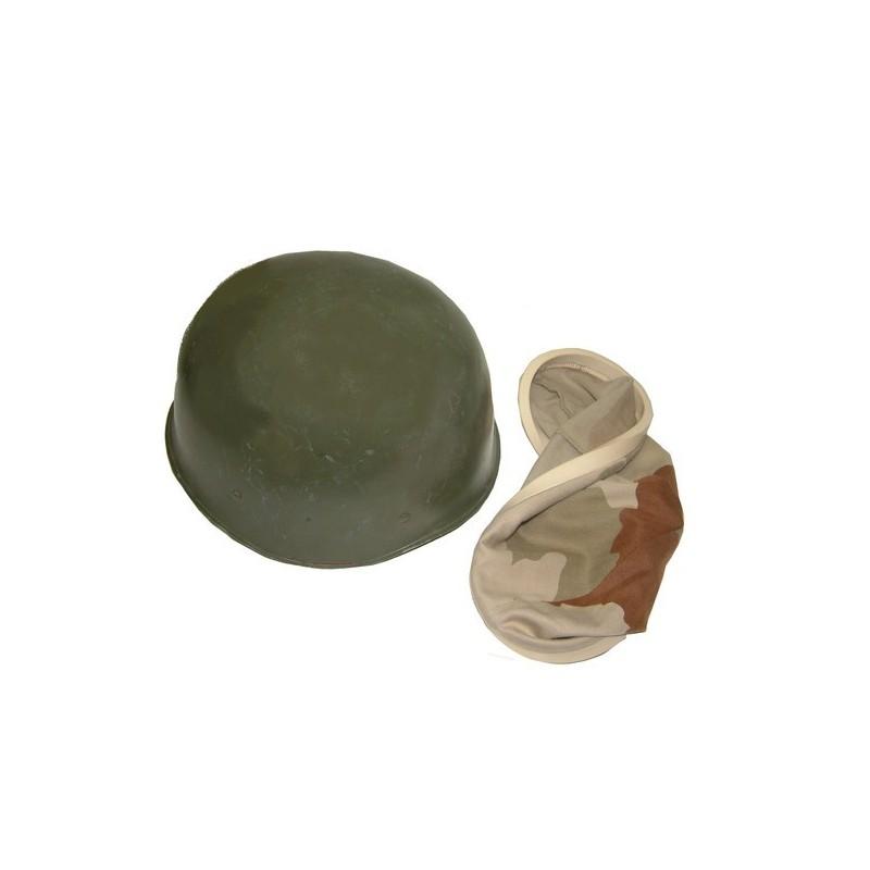 Casque F1 + couvre casque désert
