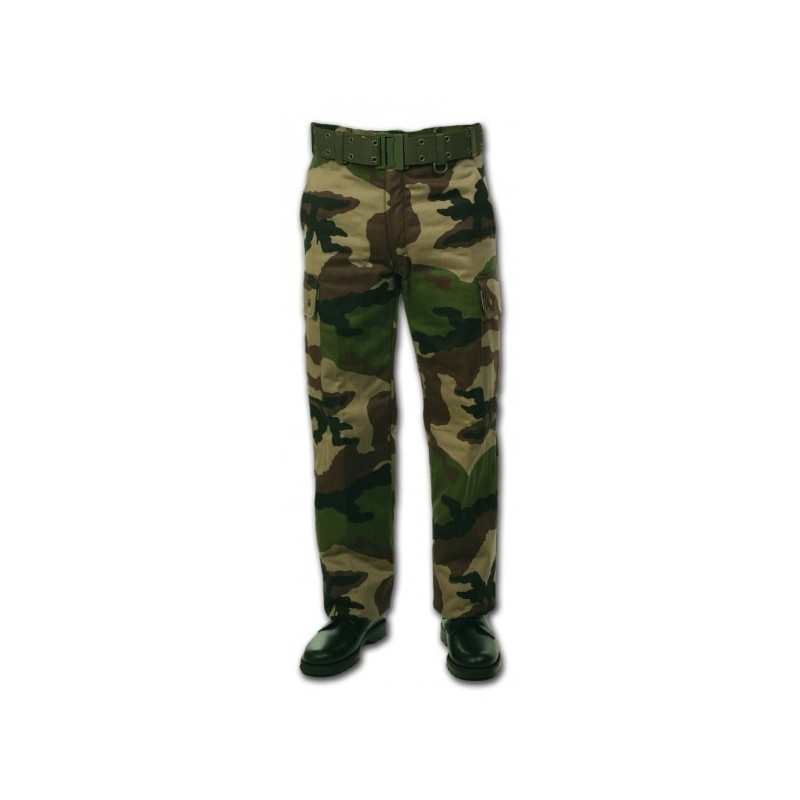 Pantalon doublé polaire camouflage