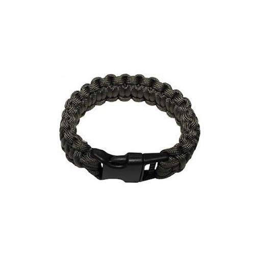 Bracelet de survie kaki