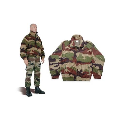 Veste polaire militaire camouflage