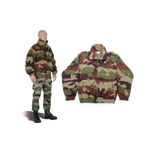 Blouson polaire 3 couches camouflage
