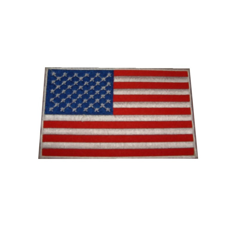 Ecusson drapeau Américain 50 étoiles
